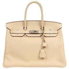 Hermes Parchemin Togo 35 cm Birkin Bag