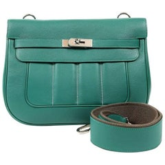 Hermes Malachite Swift Berline Bag 28 cm