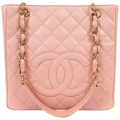 Chanel Pink Caviar PST- Petite Shopping Tote
