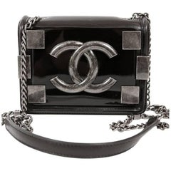 Chanel Boy Brick Cross Body Bag in Black