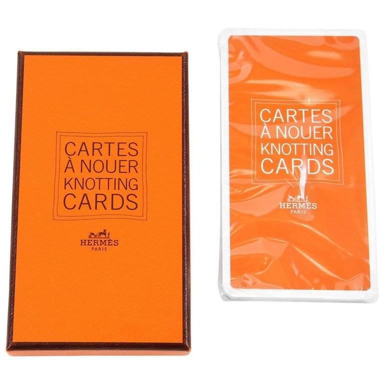 Hermes Scarf Knotting Cards 4