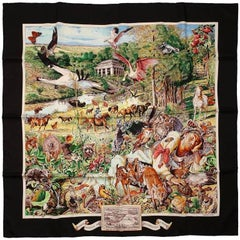 Hermes Madison Avenue 90 cm Silk Scarf- Limited Edition