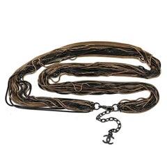 Chanel Multi Chain Necklace Belt