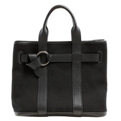 Hermes Black Petit Ceinture PM Tote Bag- Unisex