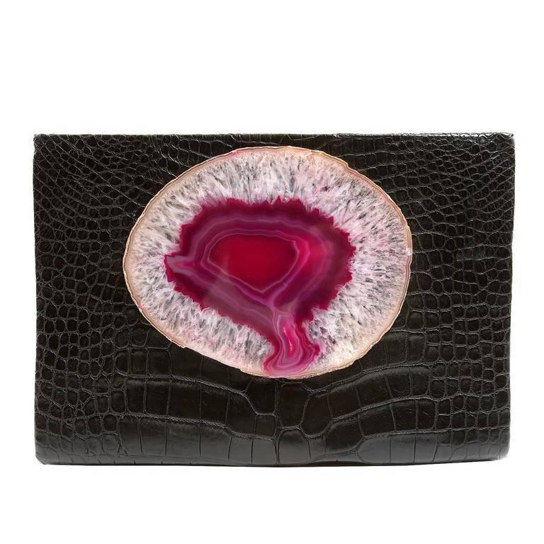 1stdibs 1930s Comolli Italy Handmade Embroidered Velvet Clutch pCQUBhyz
