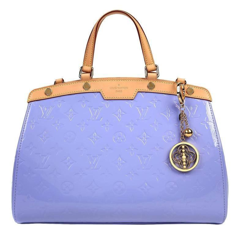 Louis Vuitton Lavender Monogram Vernis Leather Brea MM