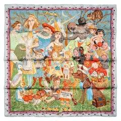 Hermes Fairytales by Hermes 90 cm Silk Scarf