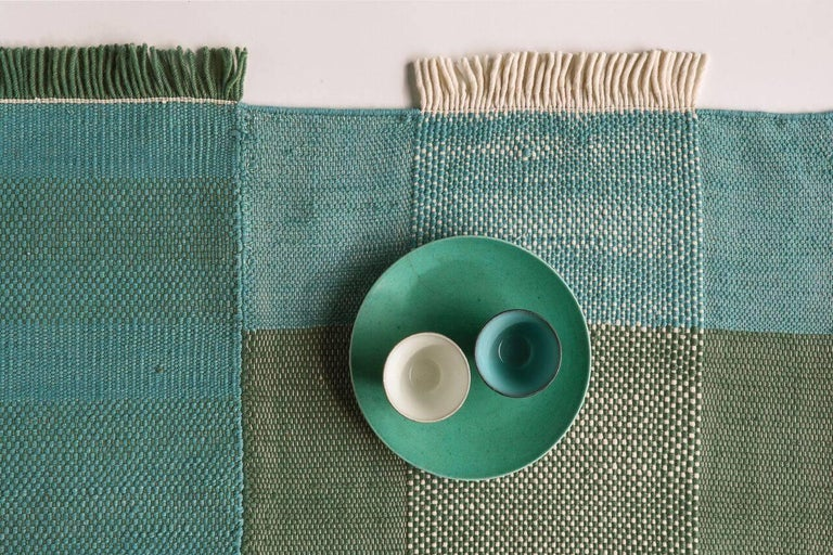 The Tres collection reflects nanimarquina's passion for craftsmanship, specifically paying tribute to the ancient craft of weaving. With this collection, the desire is to reclaim the basics, to appreciate the beauty in details and respect