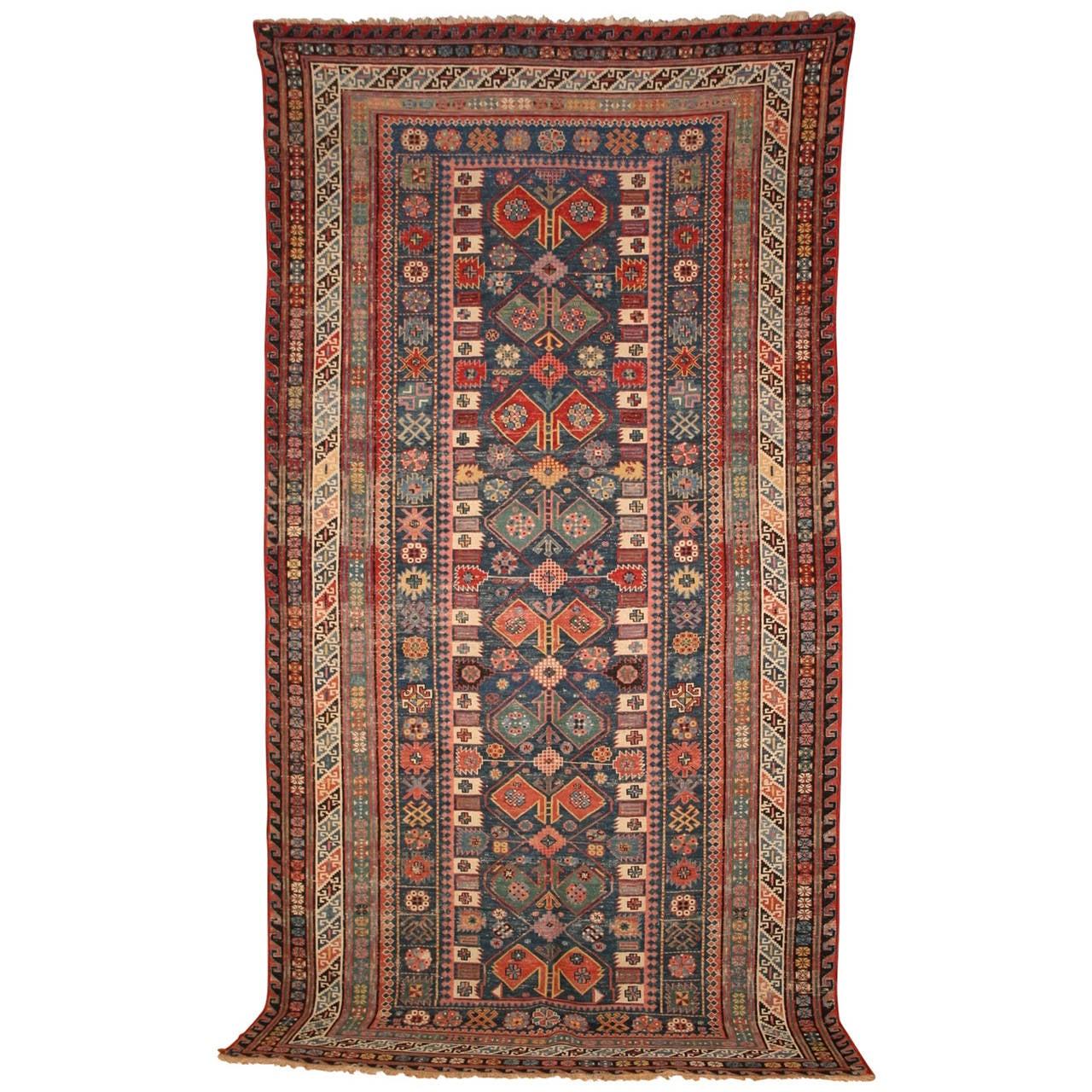 Armenian Antique Rugs: Rare Antique Armenian Soumak Rug At 1stdibs