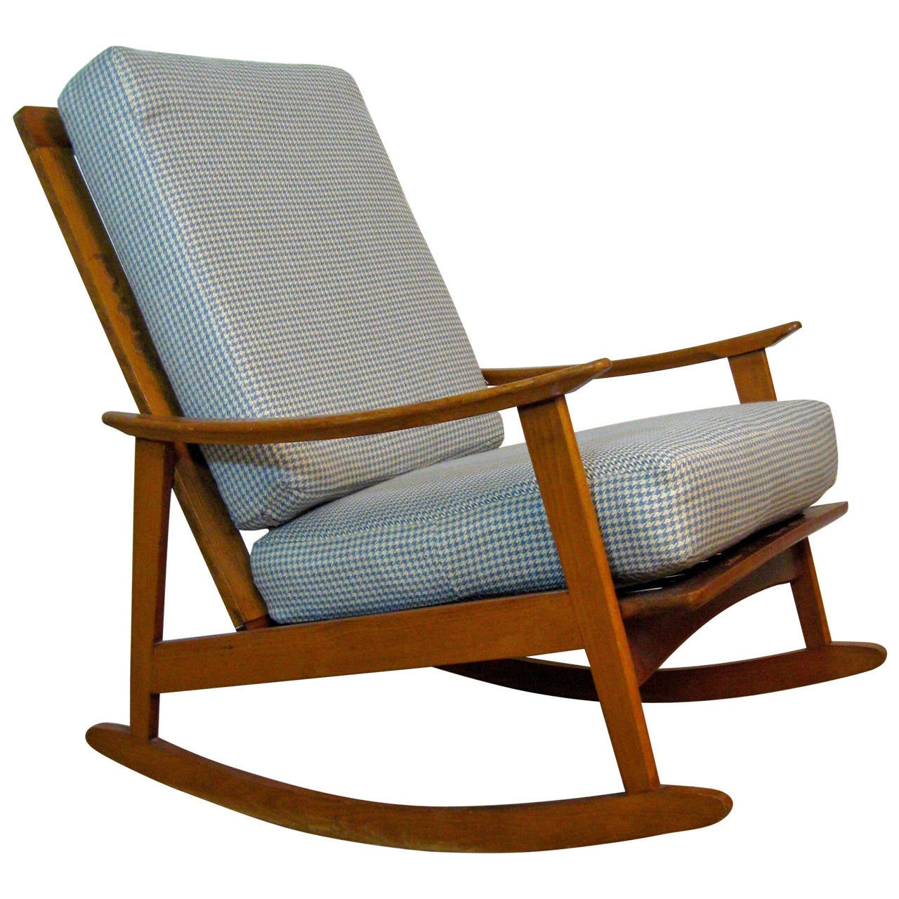 Modern Rocking Chair ~ Mid century modern rocking chair for sale at stdibs