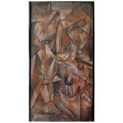 """""""Fracture 1"""" Cubist Painting"""