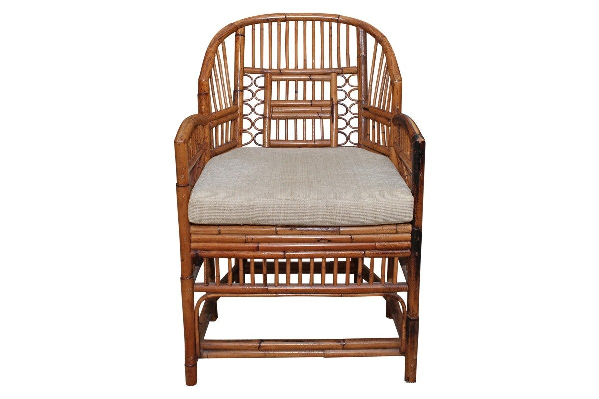 Bamboo Chair Set Of Six Vintage Bamboo And Rattan Chippendale Chairs At