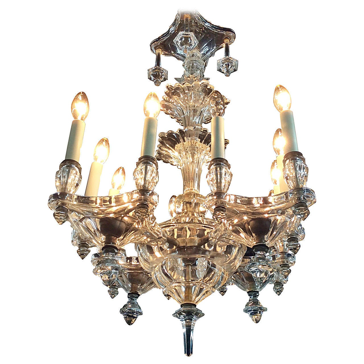 Flush mount italian venetian chandelier circa 1940 for sale at 1stdibs flush mount italian venetian chandelier circa 1940 for sale aloadofball Images
