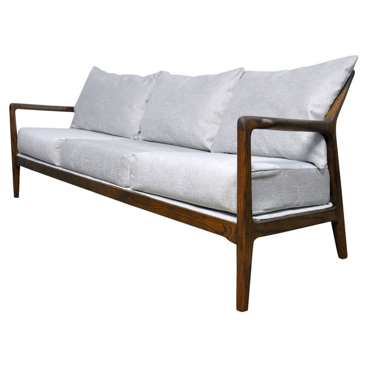 Mid century spindle back sofa by jack van der molen for Furniture jack