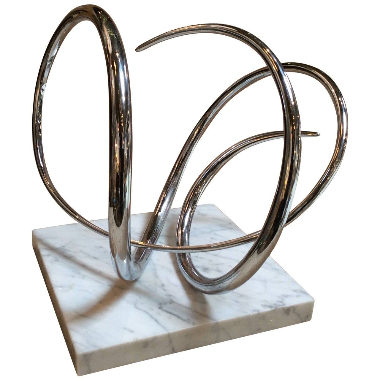 Abstract Modern Sculpture, Signed by listed Artist Joseph Domareki