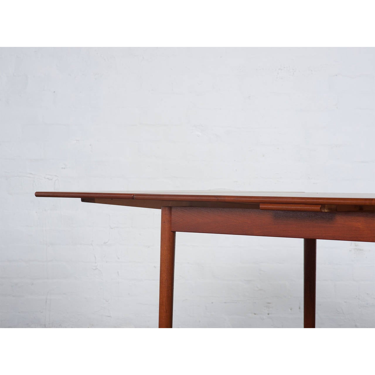 Mid Century Danish Teak Dining Table For Sale at 1stdibs : NewTeakDiningTabledetaill from www.1stdibs.com size 1280 x 1280 jpeg 52kB