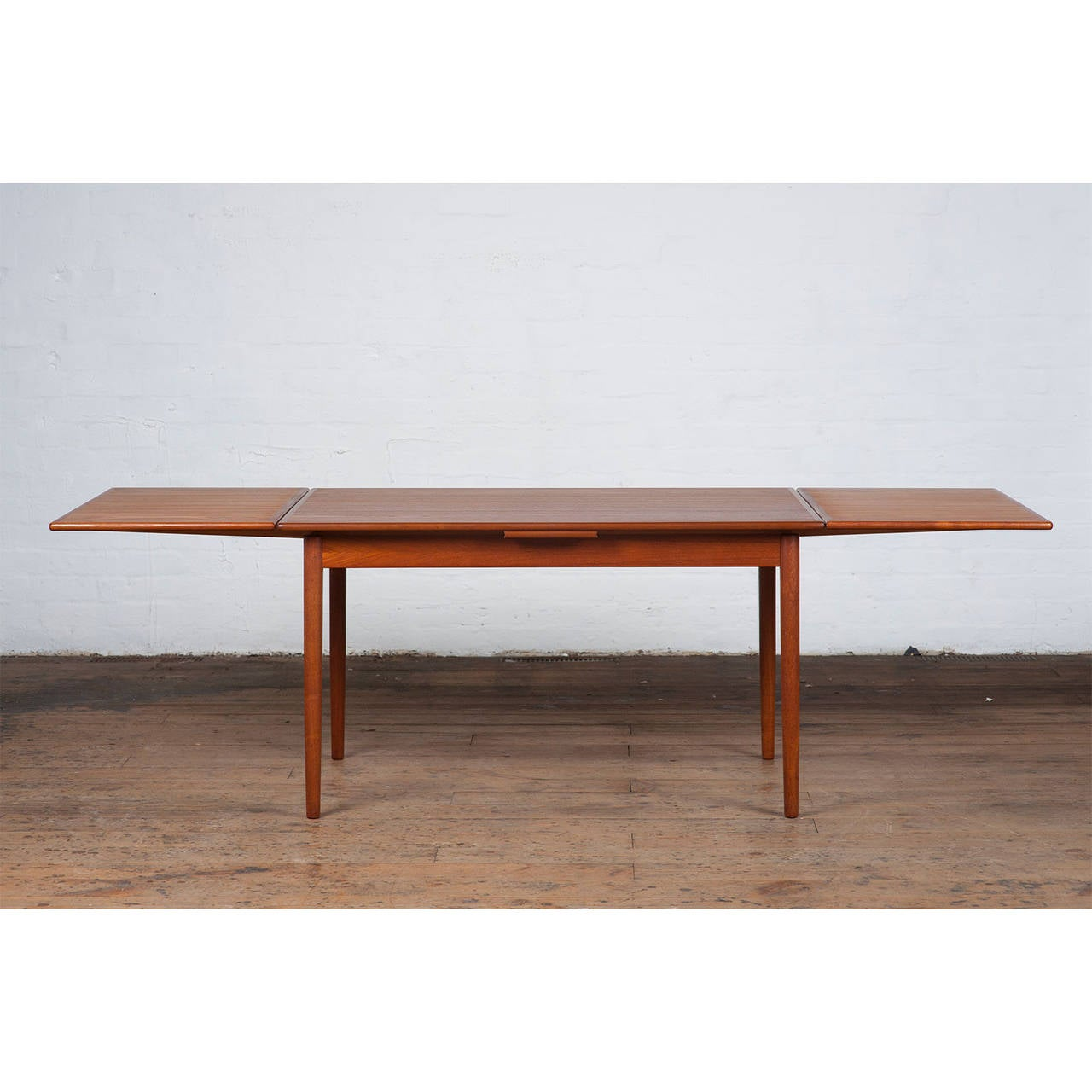 Mid Century Danish Teak Dining Table For Sale At 1stdibs