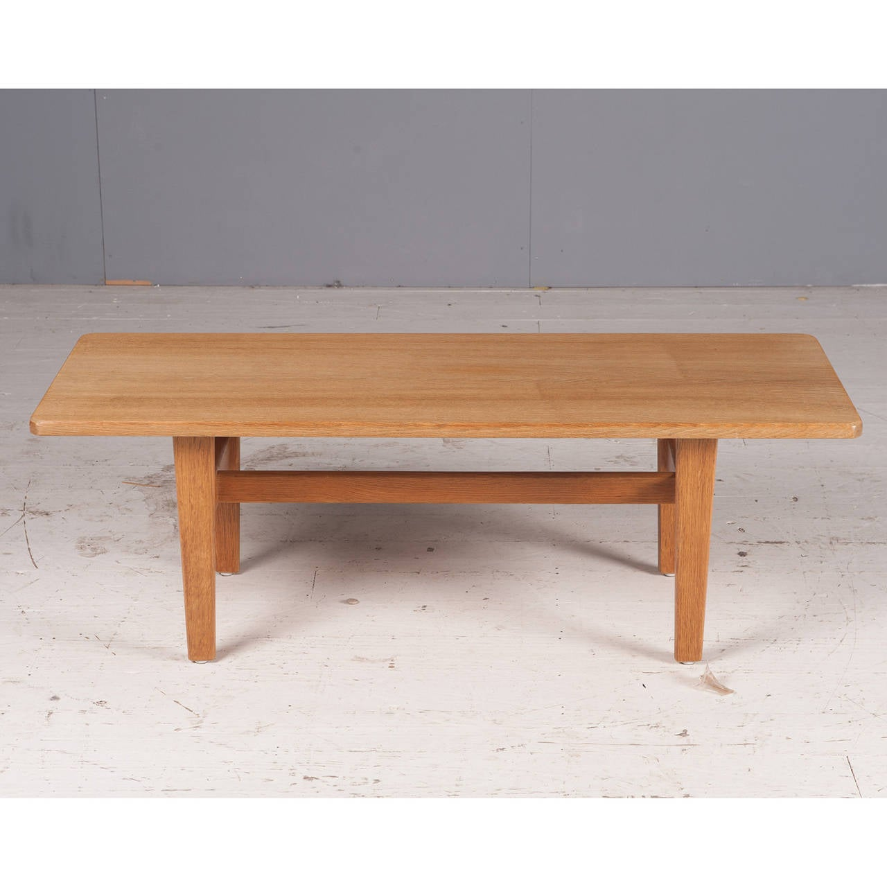 Danish Rectangular Coffee Table In Oak 1960s For Sale At 1stdibs. Full resolution‎  photograph, nominally Width 1280 Height 1280 pixels, photograph with #4D2517.
