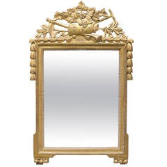 18th Century French Gilded Louis XVI Mirror