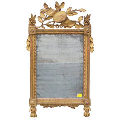 18th Century Gilded Louis XVI Mirror
