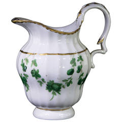Champion's Bristol Jug Decorated with Green Swags, circa 1775