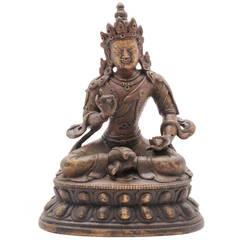 Bronze Vajradhatu Bodhisattva Sculpture, Sino Tibet, 18th century