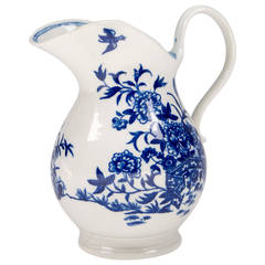 Flight Worcester Jug, 'Flight' Mark Impressed, circa 1785