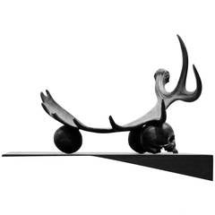 Antler Coupe Sculpture by Rick Owens