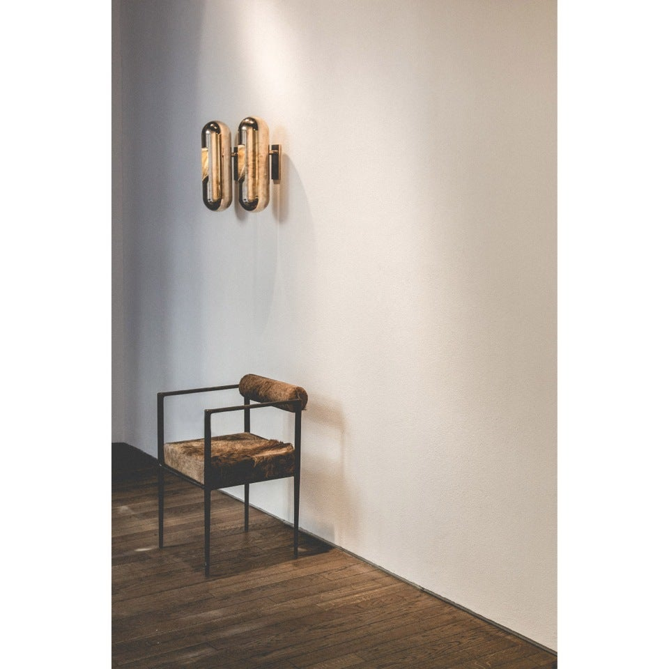 Bronze Applique Wall Lamp by Rick Owens 3