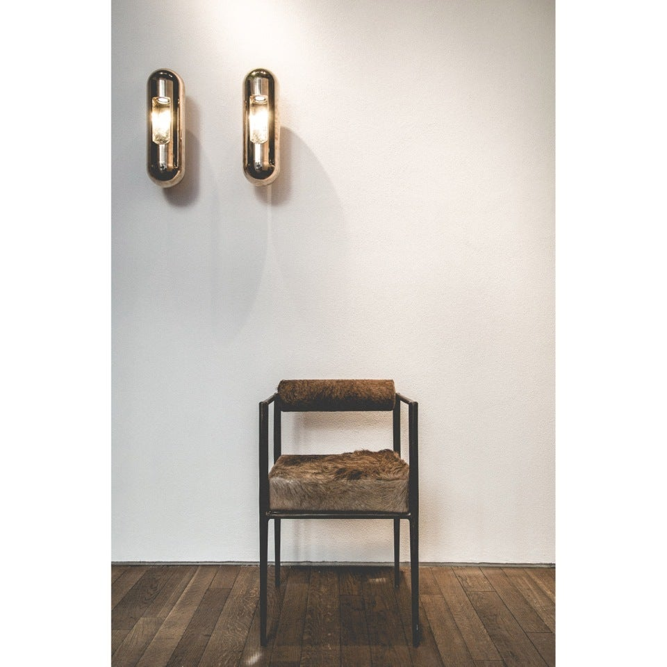 Bronze Applique Wall Lamp by Rick Owens 2