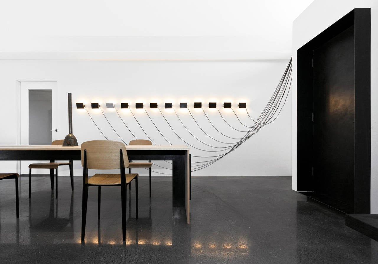 12 CP-1 Wall Light Installation by Charlotte Perriand For Sale at ...