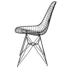 Eames Wire-Mesh Side Chair