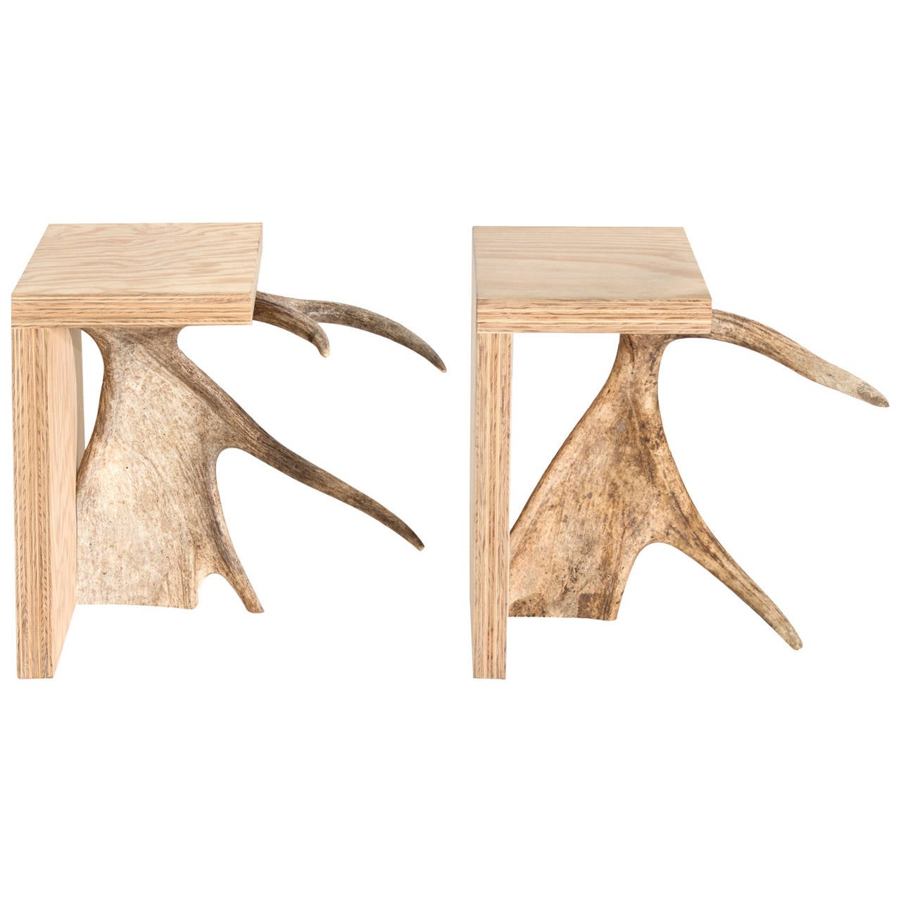Natural Stag T Stool From Rick Owens Home Collection For