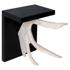 Stag T Stools in Black from Rick Owens Home Collection