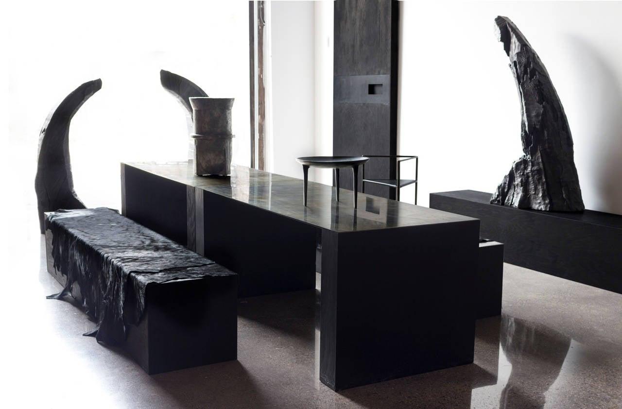 showroom table by rick owens for sale at 1stdibs. Black Bedroom Furniture Sets. Home Design Ideas