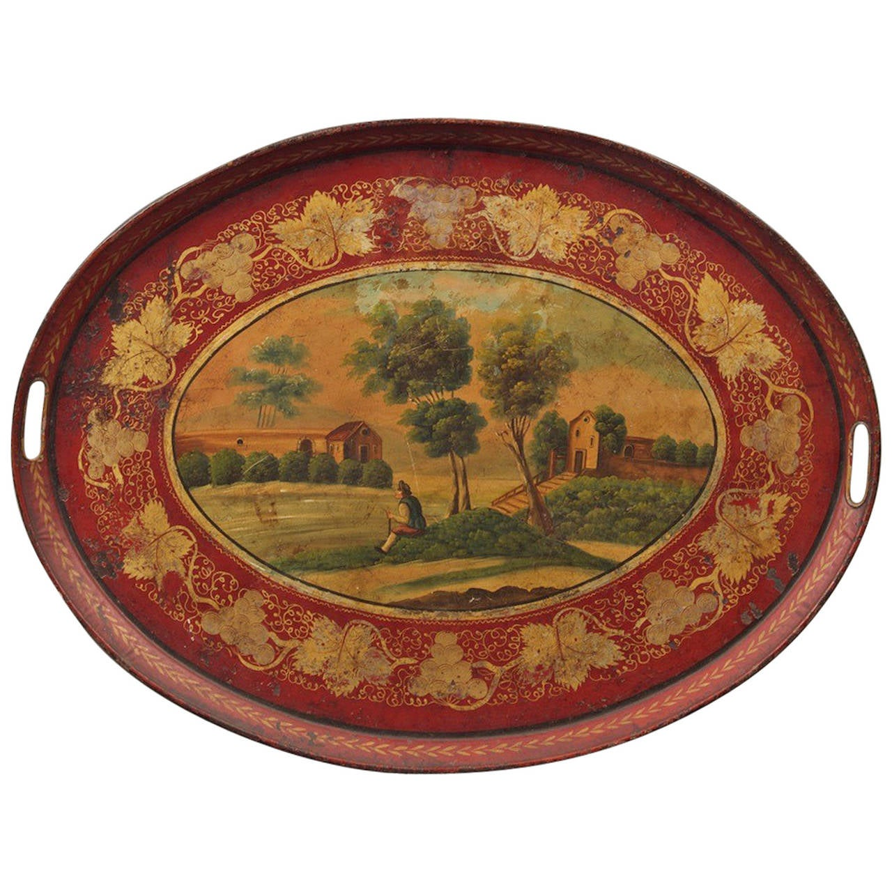 19th C French T 244 Le Tray At 1stdibs