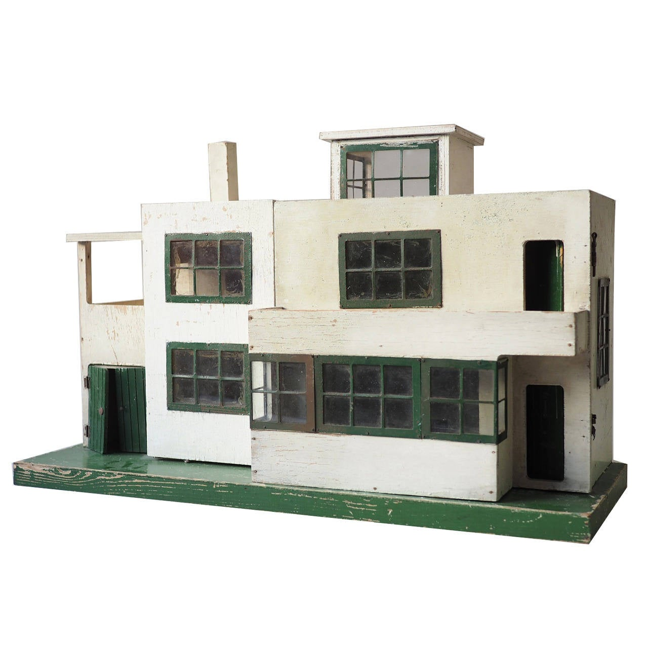 Canopy Bed Ultra Modern Dolls House 1930s At 1stdibs