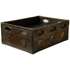 Antique Japanese Sutra Box, 1630