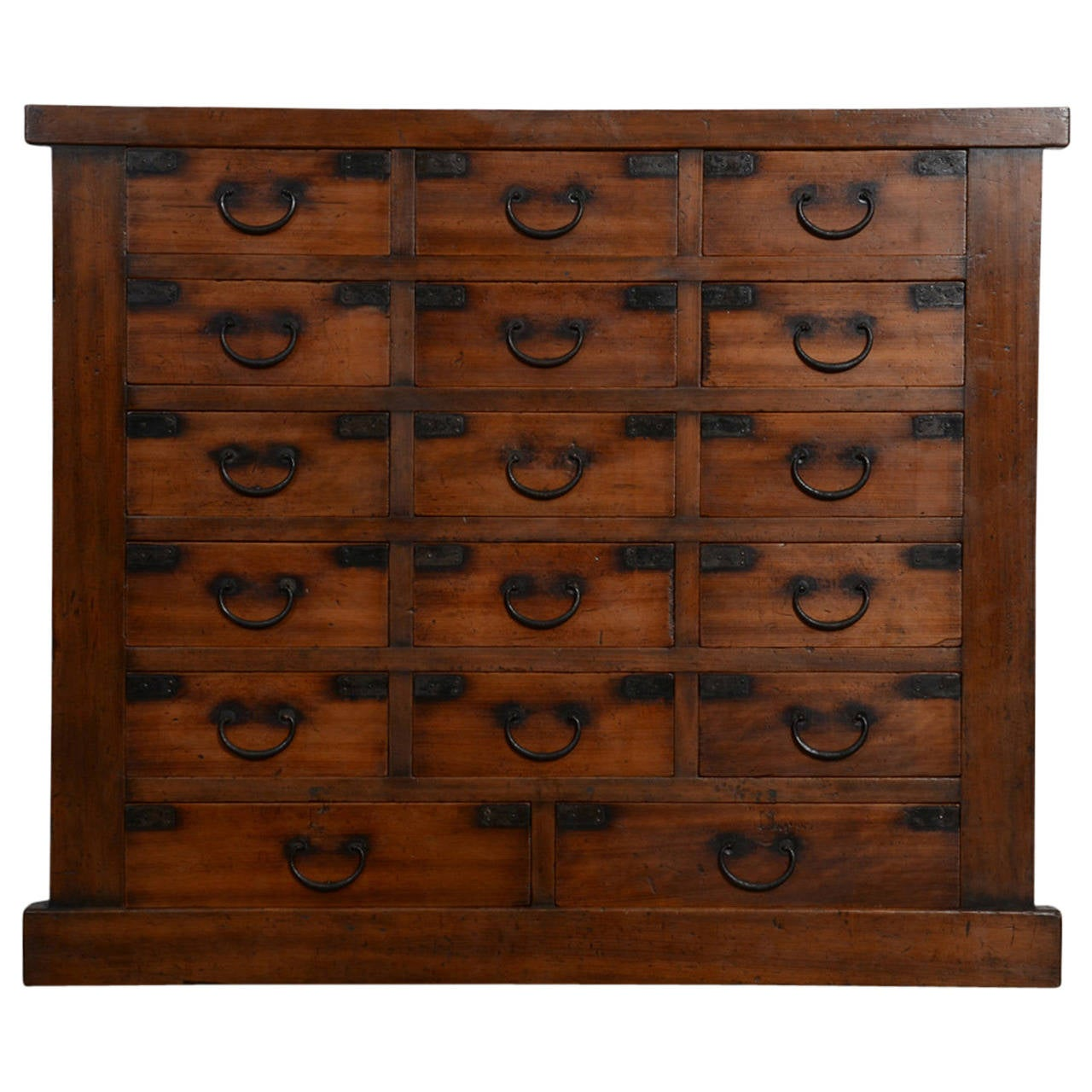 Antique Japanese Chest Of Drawers, Meiji Period, 19th Century 1