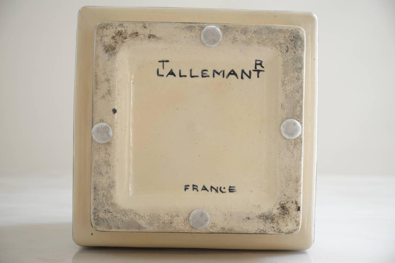 Robert Lallemant Ceramic Vase Circa 1930 Image 4