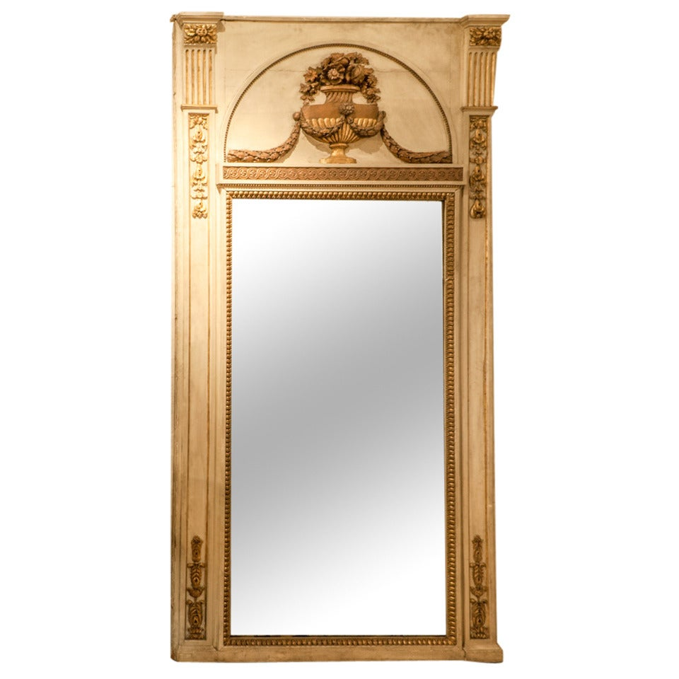 French lxvi full length wall mirror circa 1790 for sale at for Full length wall mirror