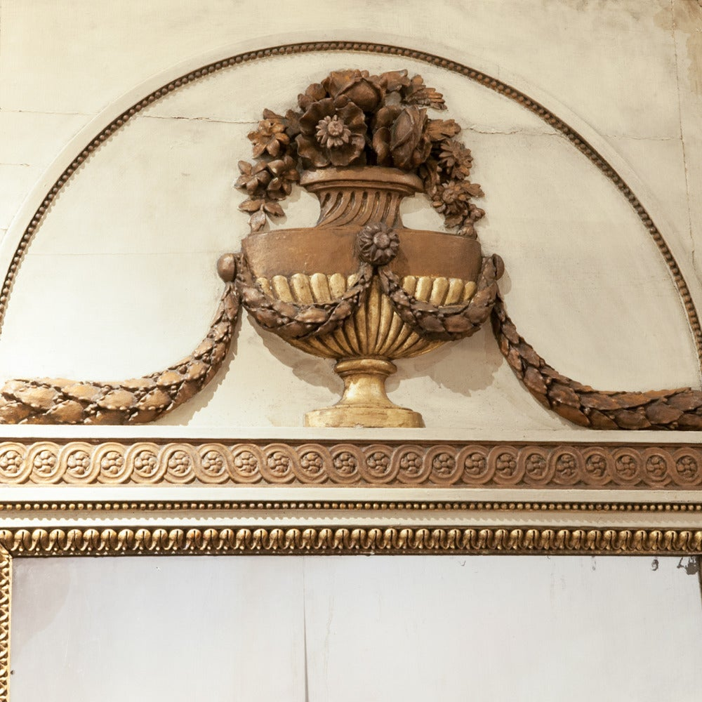 French Lxvi Full Length Wall Mirror Circa 1790 For Sale At
