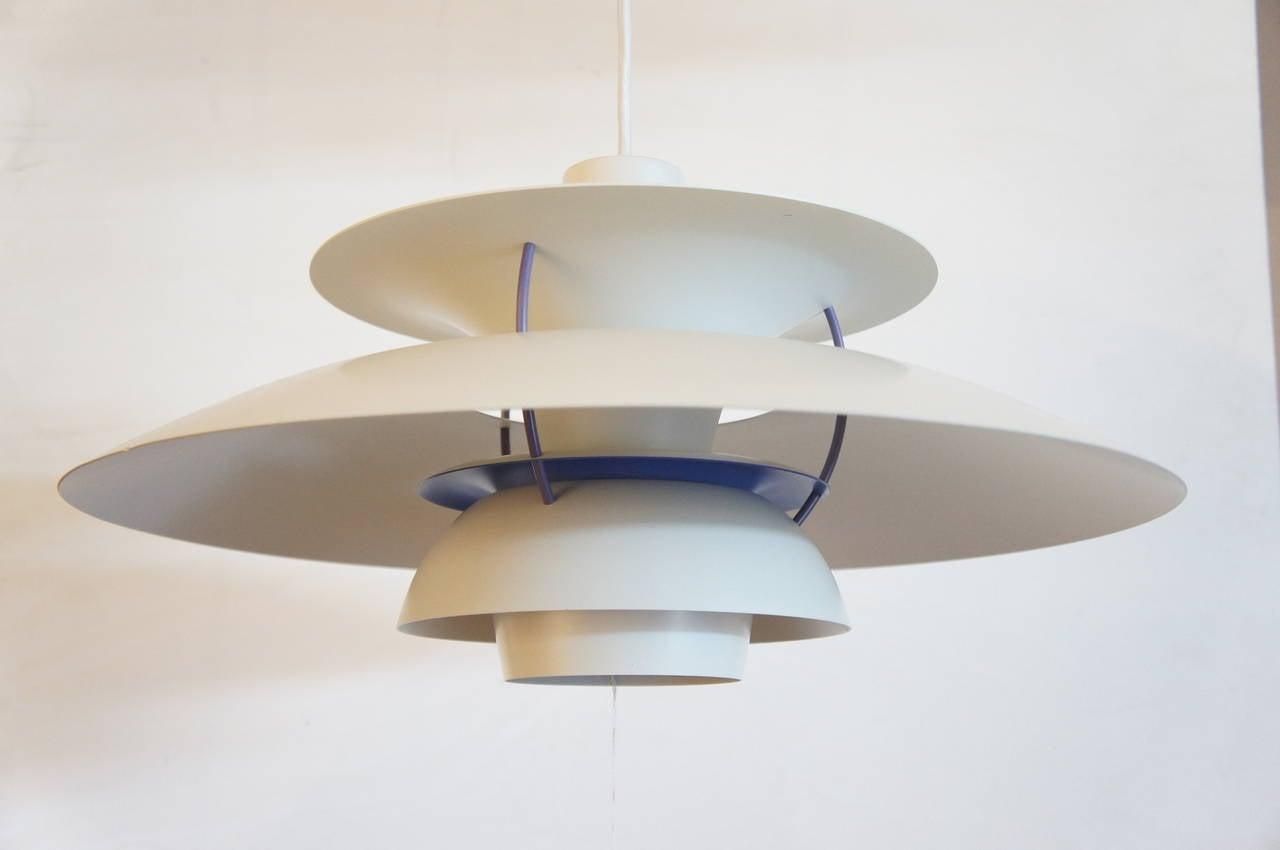 poul henningsen ph5 pendant light at 1stdibs. Black Bedroom Furniture Sets. Home Design Ideas