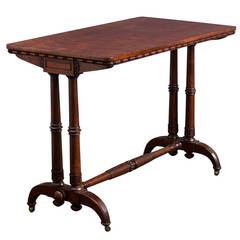 Pair of George iv Mahogany Side Tables