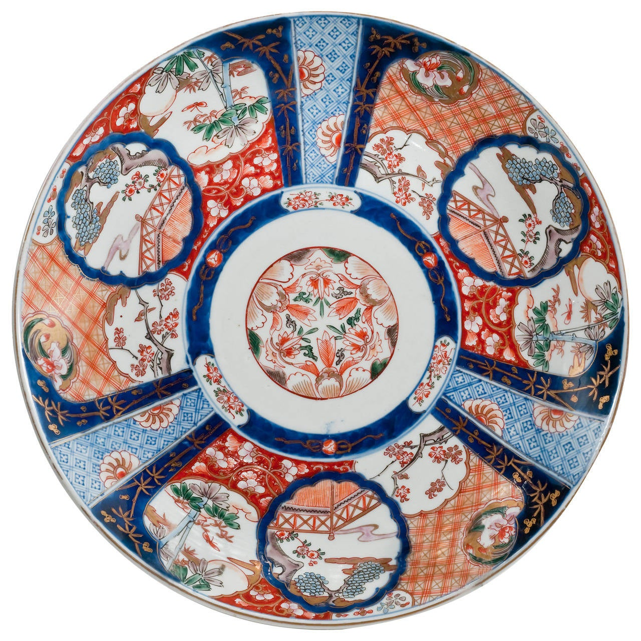 Late 19th Century Japanese Imari Charger