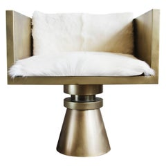 Anna Karlin Brass Armchair