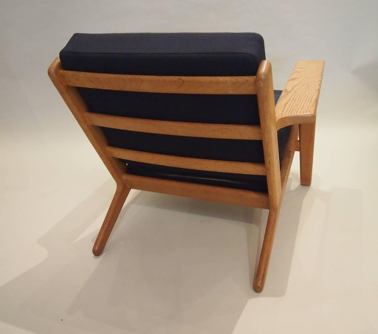 Pair Of Hans Wegner Plank Chairs G290 At 1stdibs