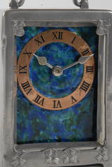 Arts and crafts liberty and co carriage clock by for Arts and crafts clocks for sale