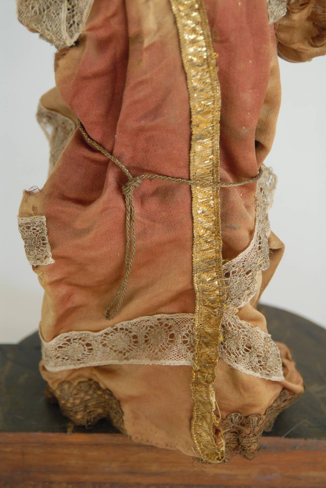 19th Century Italian Nativity Female Figure For Sale 3