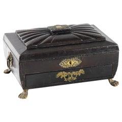 19th Century Georgian Sewing Box